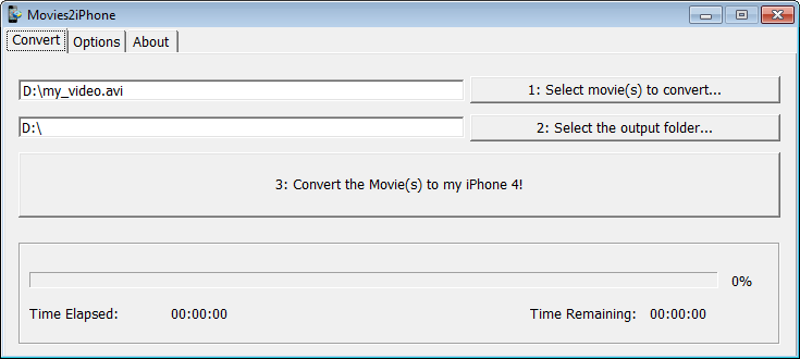 movies2iphone pour windows xp